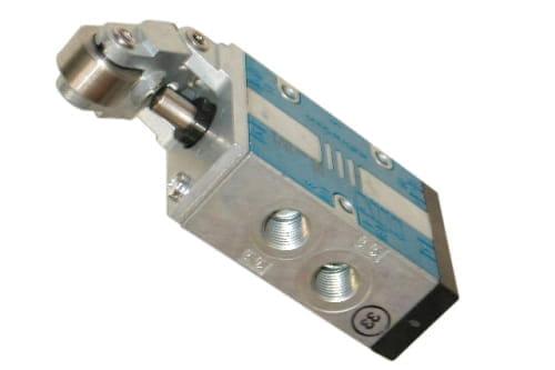 3/2 ventiel g1/4″ mech.bediend door rol