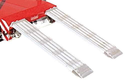 Auffahrrampe aluminium 2400×600