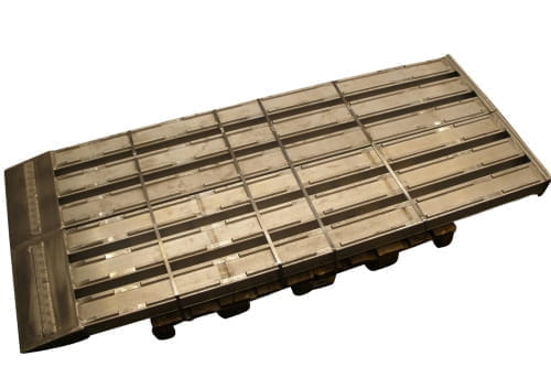 Ramp aluminium 2800×550