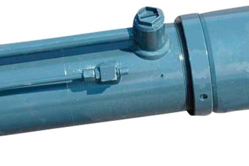 Compensatie cilinder HY HR d82.5 RAL7016