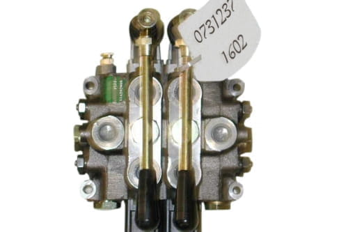 Control valve 2 section