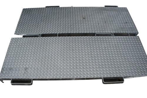 Auffahrrampe Stahl 1500×550