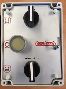 Ramp control box