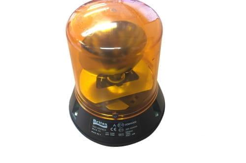 Zwaailamp oranje D153 H165 Britax 320.00.LB