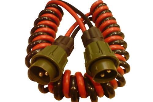 Spiral cable Nato L=3mtr