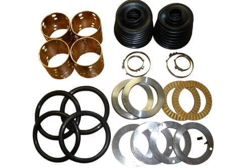 Fusee repair kit for 1 axle