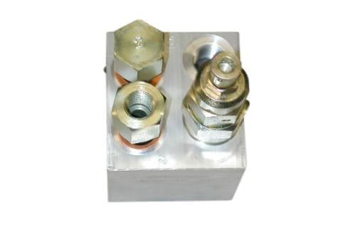 Loadholding valve for rampcilinder