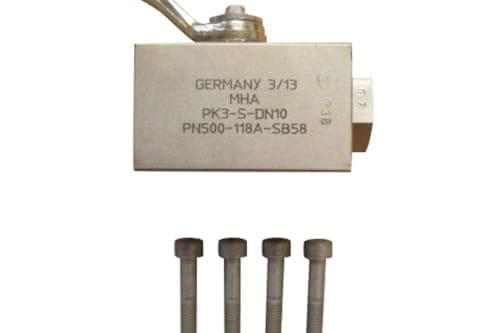 Ball valve 3-weg