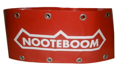 Nooteboom protection cover, red