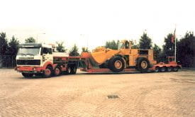 1980 - Euro low-loader with powersteered axles