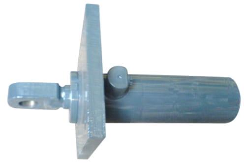 Abstütz Zylinder HY d40 RAL7016
