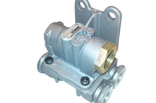 Quick release valve & double check valve