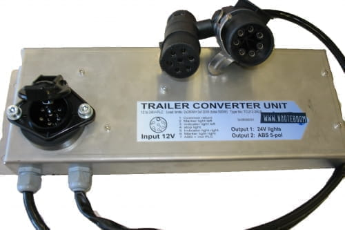 Converter unit 12v-24v