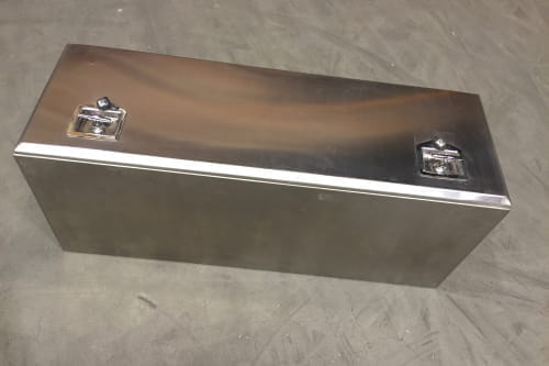 Toolbox Stainless steel L=1200 D=500 H=400