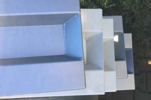 Headboard H400 White (2 pieces)