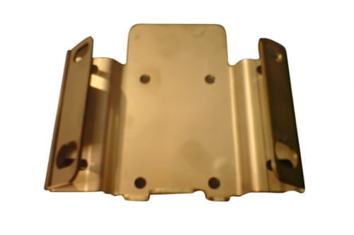 Bracket for receiver, stainless steel
