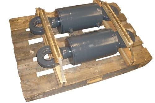 Hydr.cylinder daxd80-160 bearing/bearing ral7016