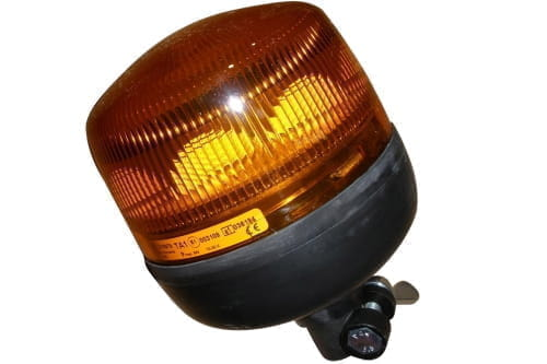 Flashing beacon amber LED