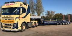 Une nouvelle 5 essieux Nooteboom pour Autaa
