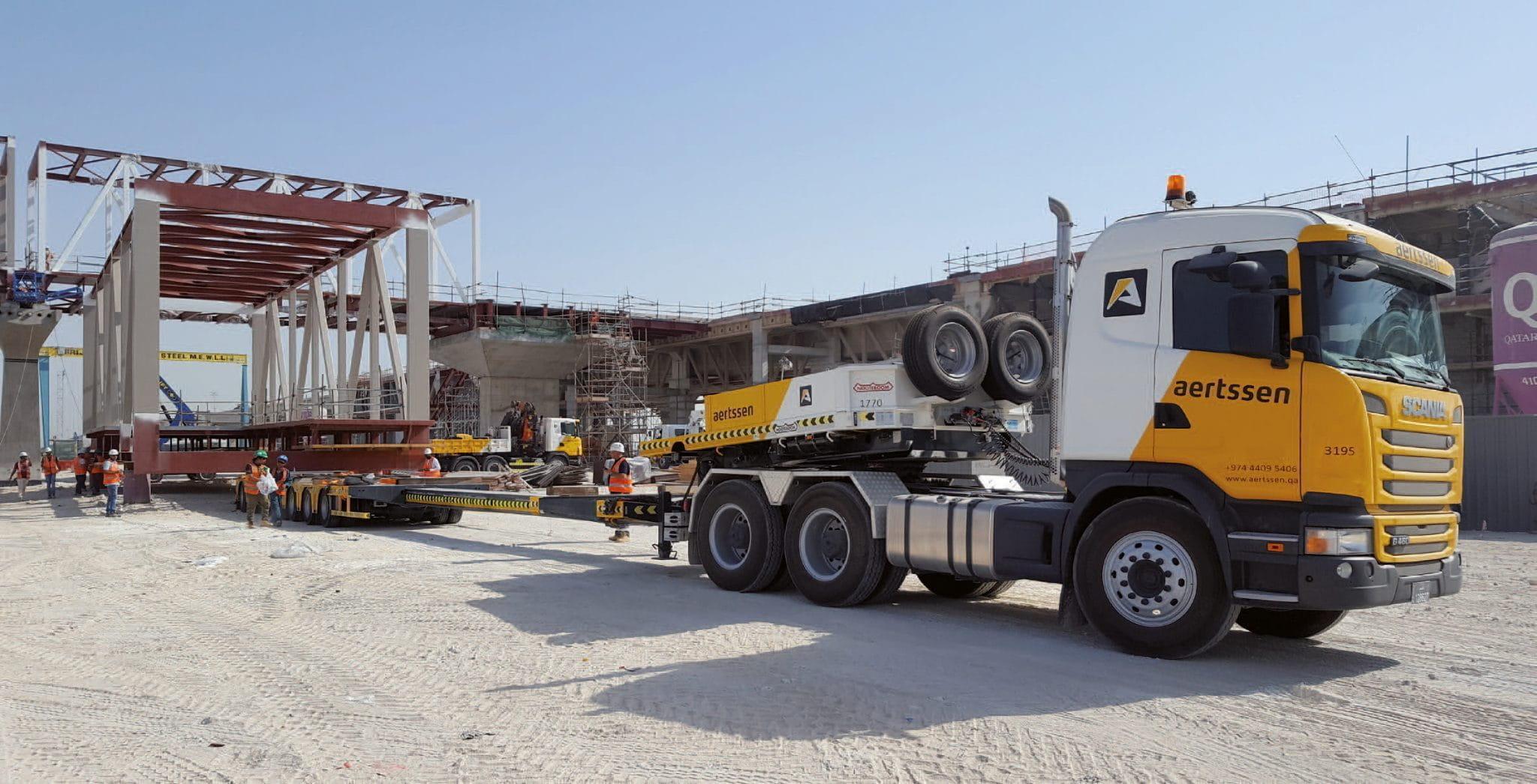 Aertssen - El Proyecto de Autopista Orbital en Qatar - Nooteboom ...