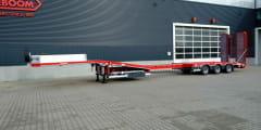 Actualización del programa de góndolas de cama baja para el transporte de maquinaría