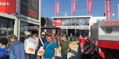 Nooteboom presenteert 80 tons oprit voor Manoovr met gieksleuf op INTERMAT PARIJS