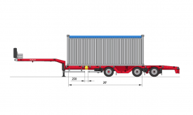 ISO 20-feet Container