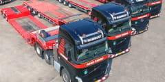 Nieuwe Nooteboom trailers voor Mammoet Road Cargo