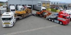Les Transports Duarig ont investi dans deux nouvelles remorques Nooteboom pour les convois exceptionnels, dont une nouvelle 4 essieux