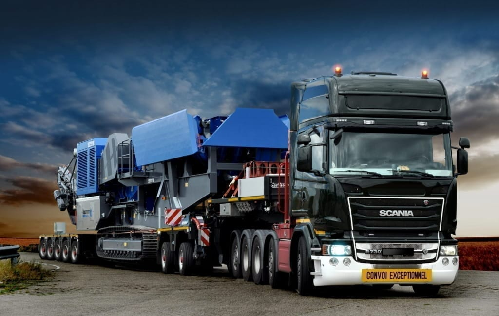 Nooteboom EURO-px 2+5 + Scania 10x4 - september 2016