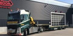 Nooteboom supplies 10 new semi lowloaders to Bolk Transport