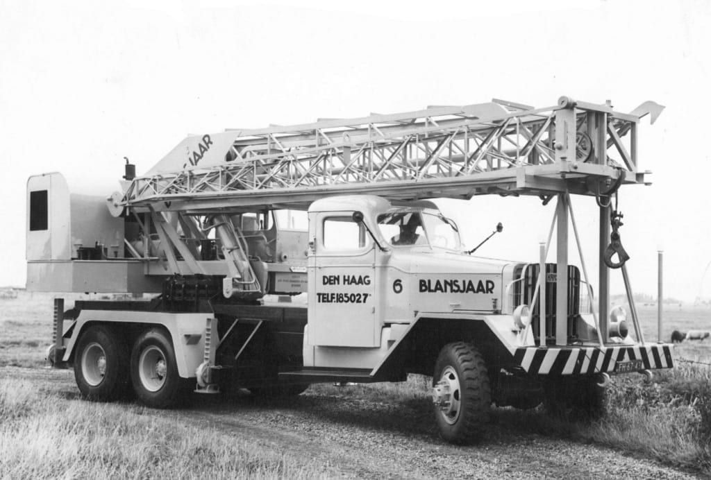 Nooteboom Mobile Cranes from 1953-1963
