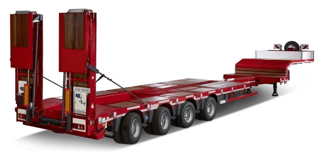 Góndolas de cama baja con autodirección OSD - Nooteboom Trailers