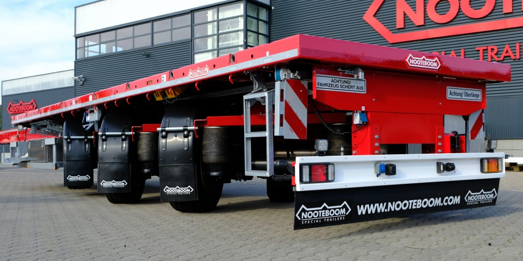 Nooteboom Teletrailer Longrunner - all axles power steered