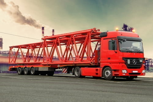 MCO-MEGA extendible Mega trailer with hydraulic steering