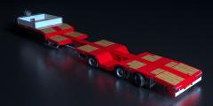 Nooteboom présente une nouvelle semi-remorque SMART avec fosses à roues