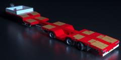Nooteboom introduceert nieuwe uitschuifbare lichtgewicht semidieplader met wielkuilen