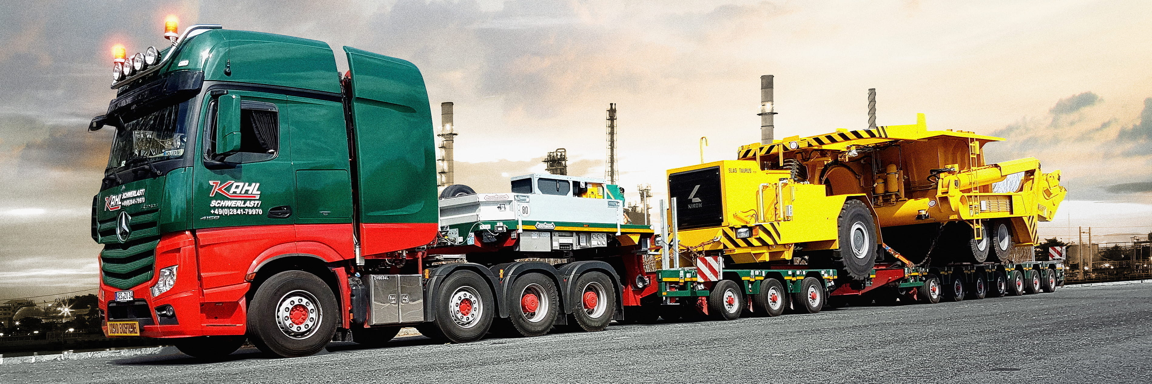 Kahl Schwerlast - On the move with the latest technology
