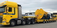 Four Nooteboom Manoovr's for Ter Linden Transport
