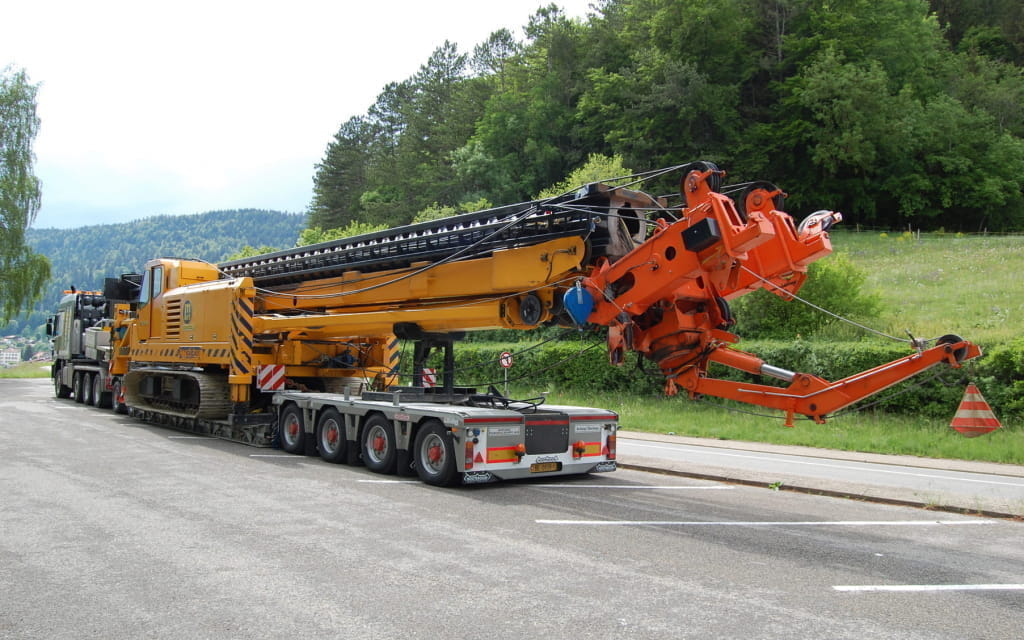 Affolter Euro low-loader