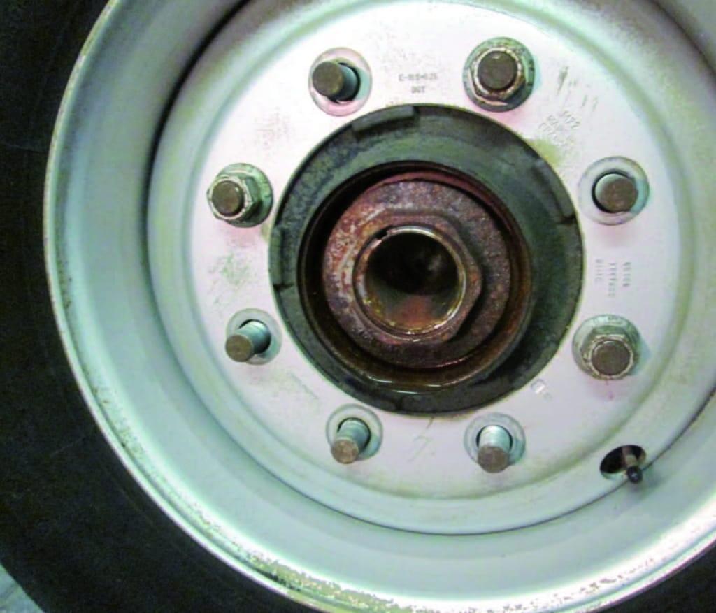 Wheel bearings affected by salt water