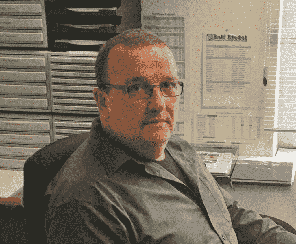 DIRK ANBERGEN, MANAGING DIRECTOR ROLF RIEDEL TRANSPORT